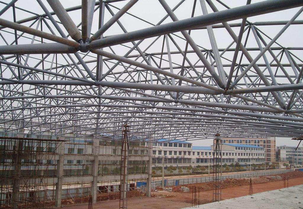 16mn无缝钢管用于钢结构网架工程